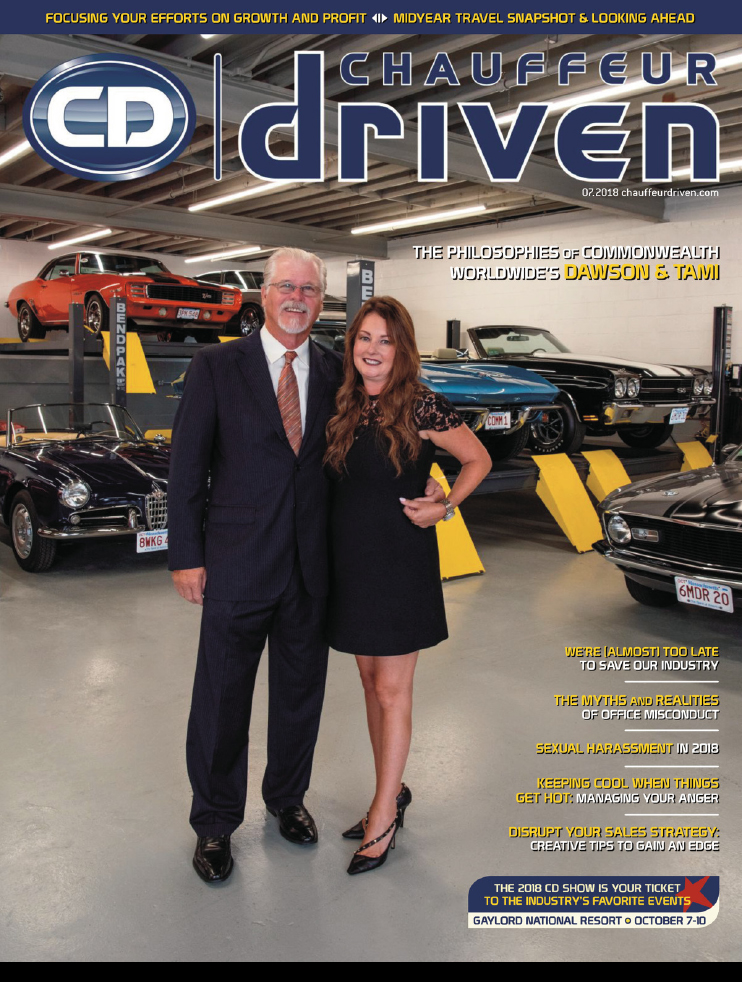 Chauffeur Driven July 2018 Cover