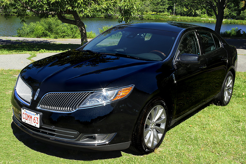 A Lincoln MKS, used for chauffeured black car services by Commonwealth Worldwide.