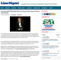 Limo Digest Concierge Choice 2014 thumbnail